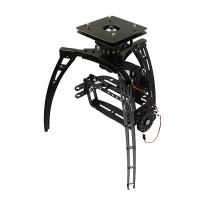 3 Axis Synchronous Belt Drive Aerial PTZ Glass Fiber Kit Aircraft FPV DIY Parts