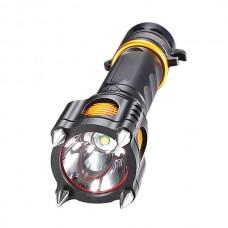 T16 Multifunctional Strong Light Flashlight Charging Long Distance LED 18650 Aluminum Alloy