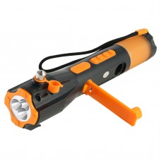 703-1 Safety Hammer Escape Hammer Manual of Vehicle-mounted Emergency Multifunctional Flashlight Radio XLN-703