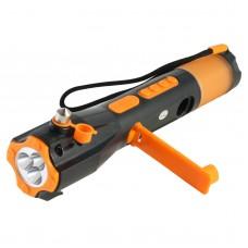 703-1 Safety Hammer Escape Hammer Manual of Vehicle-mounted Emergency Multifunctional Flashlight Radio XLN-703
