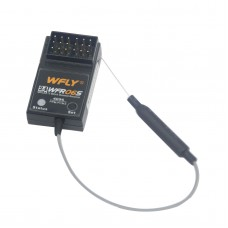 WFLY WFR06S 2.4G 6-channel Mini Receiver W-FLY 2.4GHZ for RC Quadcopter Airplane