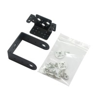 2 DOF Short Pan and Tilt Servos Bracket Sensor Mount kit for Robot Arduino compatible MG995