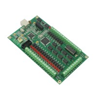 4 axis CNC USB Card Mach3 200KHz Breakout Board Interface Adapter Interface Card for Routing Machine