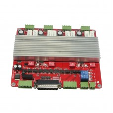 4 axis TB6560 Stepper Motor Driver CNC Controller Board V Type for Engraving Machine