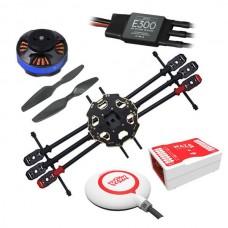 Tarot 680 Pro ARTF Hexacopter TL68P00 w/ Naza Lite+ Tarot 4006/620KV & DJI E300 15A ESC FPV Multi-Rotor Combo