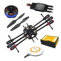 Tarot 680 Pro ARTF Hexacopter TL68P00 w/ DJI Naza V2 Tarot 4006/620KV & DJI E300 15A ESC FPV Multi-Rotor Super Combo