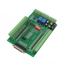 Professional CNC 6 Axis Breakout Board with Relay & Spindle Control Optical Isolated Common Signal