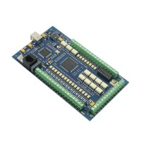 4 Axis USB CNC USBCNC Stepper Breakout Board Interface Controller Card MACH3 1 MHz 24V Input for CNC Milling Machine