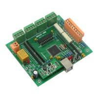 4 Axis USB CNC Controller CNCUSB Interface Board CNC USB MACH3 Software USBCNC Driver