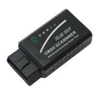 ELM327 Bluetooth Plastic V1.5 ELM327 with Wireless OBD OBDII Diagnostic Scanner Suit All OBDI Cars