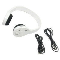 Bluetooth Stereo Headset BH-506 Wireless Bluetooth Headphone for Android Smart Phones Tablet PC White