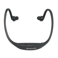 Sports Wireless Bluetooth Headset Earphone Headphone S8 Black for Iphone Samsung Cellphone Tablet without Mic
