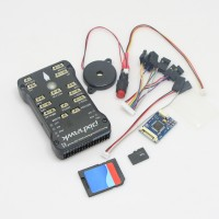Pixhawk PX4 Autopilot PIX 2.4.6(2.4.5) 32 bit ARM Flight Controller + 4G TF Card & PPM for RC Multicopter