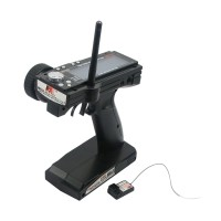 FS-GT3B 2.4G 3CH LCD Gun Transmitter & Receiver for RC Mode Car Truck Buggy Boat