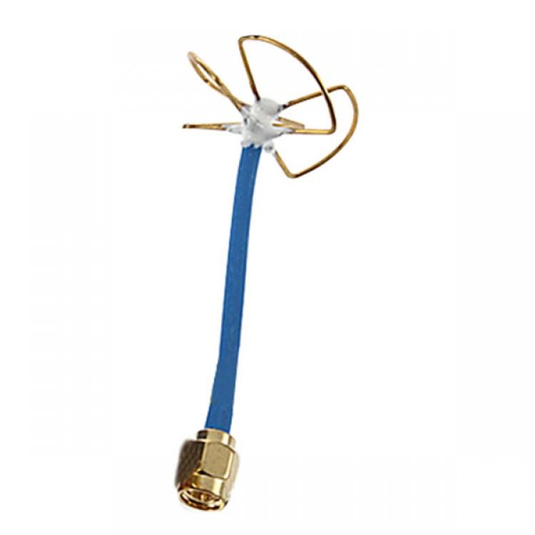 5.8G Clover Leaf Antenna Skew Planar 3 4 Blades Audio Video FPV TX RX