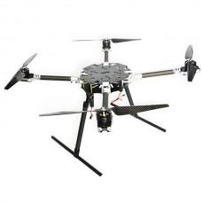 Robo-Q 740mm Carbon Fiber Folding Quadcopter Frame Kit w/Retractable Landing Skid FPV