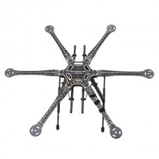 RCT 800mm FPV PCB Center Plate Hexacopter Aircraft Kit RC Multicopter without Landing Gear