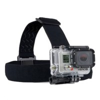 Gopro Head Strap For Gopro Hero3/ 2 Black KeepingFootage Clear Cameras Accessories