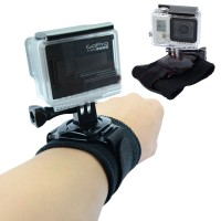Profession Gopro Accessories 360 Degree Rotation Arm Wrist Band With Screw For Waterproof Shell Gopro Hero3+ 3 2