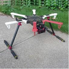 ATG CNC Multifunctional Landing Gear Frame Kit  A-Pro Combo Carbon Fiber Type Upgrade Version for DJI F550