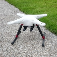 ATG Landing Gear Carbon Fiber V2-A-10MM Upgrade Version for DJI Phantom 1/ 2