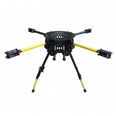 ATG Umbrella Folding Quadcopter Frame Kit TG-X4-16-650 Alien Quadcopter