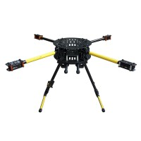 Atg Umbrella Folding Quadcopter Frame Kit Tg X4 16 650
