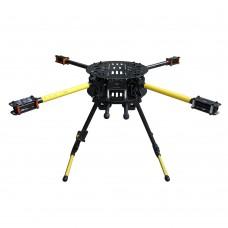 ATG Umbrella Folding Quadcopter Frame Kit TG-X4-16-720 Alien Quadcopter