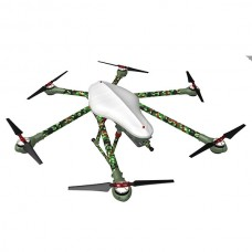 Alfa-H6 Aircraft Carbon Fiber Alien 6 Axis Copter 1000mm Wheelbase Camouflage 2KG Weight