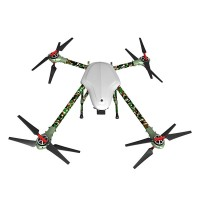 Alfa-Q4 1000MM L Size Aircraft Carbon Fiber Alien 4 Axis Copter 1000mm Wheelbase Camouflage 1.4KG Weight 1.5inch Prop