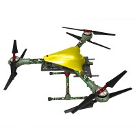 Alfa-Y3 750MM M Size Aircraft Carbon Fiber Alien 3 Axis Copter Camouflage 1KG Weight 1.5inch Prop