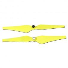 Tarot 9 Inch Self Lock CW CCW Propeller Fluorescein Yellow TL2917-03