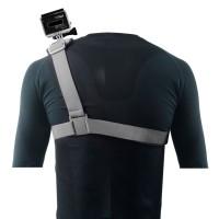 GSS-1 Colorful Shoulder Strap Elastic Fiber Polycarbonate Buckle for Gopro Hero Black