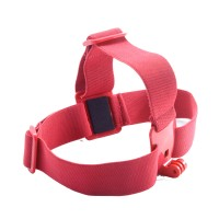 GHS-1 Colorful Head Strap Adjustable for Gopro1 Gopro2 Gopro3 Gopro3+ Red
