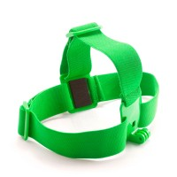 GHS-1 Colorful Head Strap Adjustable for Gopro1 Gopro2 Gopro3 Gopro3+ Green