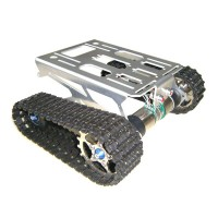 Aluminum Alloy Smart Small Car Avoiding Obstacles Robot Chassis Track Arduino Tank Chassis Wali