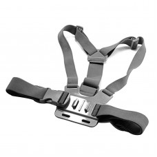 GCS-1 Adjustable Chest Strap Shooting Action Sports for Gopro1 Gopro2 Gopro3 Gopro3+ Black