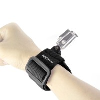 GWS-1 Colorful Adjustable Wrist Strap Shooting Action Sports for Gopro Hero 3 3+ Black
