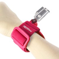 GWS-1 Colorful Adjustable Wrist Strap Shooting Action Sports for Gopro Hero 3 3+ Red