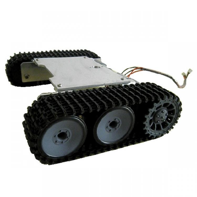 ROT-1 Apron Wheel Tank Robot Chassis Smart Car Robot Tank Frame Kit ...
