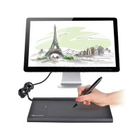 "Huion 540 5.5"" x 4"" Art Drawing Graphics Tablet With Pen Professional USB Graphic Tablet Pad"
