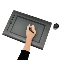 Huion Electromagnetic Digitizer Graphics Tablet Ultra Digital Tablet Drawing Tablet with Best Gift- Huion H610 PRO