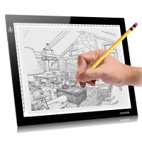 Huion L4S LED Light Pad Ultra Thin Translucent Tracing Drawing Sketch Board With Best Gift