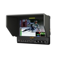 "Lilliput 663/P2 7"" Camera-top Monitor 16:9 w/ HDMI Input for DSLR Camera FPV Photography"