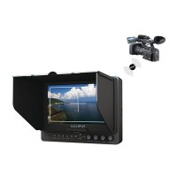 "665/P/WH 7"" Inch Wireless HDMI Monitor Wireless HDMI Monitor with WHDI HDMI YPbPr for FPV Photography"