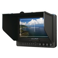 "LILLIPUT 665/O/P/WH 7"" Wireless HDMI Field Monitor with Advanced & HDMI Output for Full HD Product"