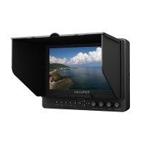 "665/S 7"" Camera-top Monitor 16:9 w/ 3G-SDI HDMI YPbPr for FPV Photography"