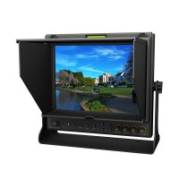 "Lilliput 9.7"" 969A/S 3G HD SDI Monitor IPS Panel LED Field monitor SDI HDMI YPbPr AV Peaking for BMCC"