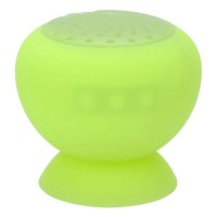 Suction Cup Mount Mini Bluetooth 3.0 Speaker Green