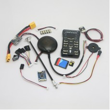 Pixhawk PX4 2.4.6(2.4.5) 32 bit ARM Flight Controller & NEO-6M GPS/4G TF Card/Led External/PPM/PM Module for RC Multicopter
